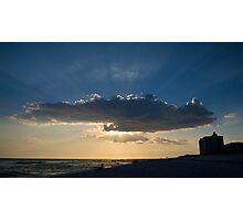 Sun Beams Photographic Print