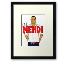 DJ Mehdi - T-Shirt Framed Print