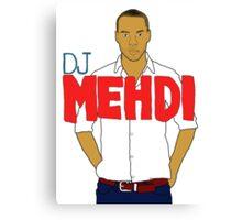 DJ Mehdi - T-Shirt Canvas Print