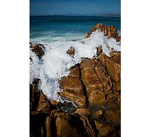 Granite Coast line, Tasmania Photographic Print
