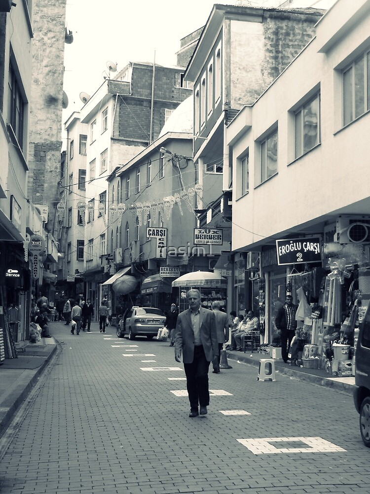 A street in Akçaabat. by rasim1