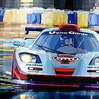 McLaren BMW F1 GTR Gulf Team Davidoff Le Mans 1997 by Yuriy Shevchuk