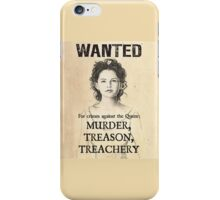 "Once Upon A Time - Snow White ""Wanted"" Poster iPhone and Samsung case iPhone Case/Skin"