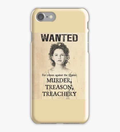 """Once Upon A Time - Snow White """"Wanted"""" Poster iPhone and Samsung case iPhone Case/Skin"""