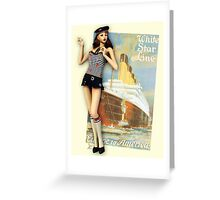 Ahoi Sailor Greeting Card