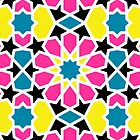 Arabesque CMYK by helveticate