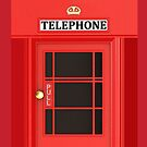 Retro Phone Booth Cases by avdesigns