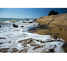 Wild beach Photographic Print