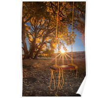 Sunset Swing Poster