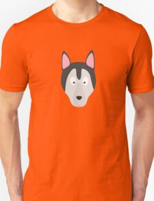Cute Dog Face Unisex T-Shirt