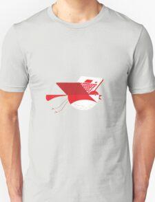 Laptop bird illustration Unisex T-Shirt