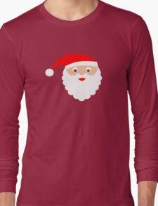 Santa head Long Sleeve T-Shirt