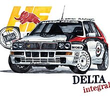 Lancia Delta Integrale by dareba