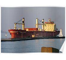 Container Ship Poster
