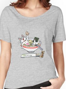 funny cat Women's Relaxed Fit T-Shirt