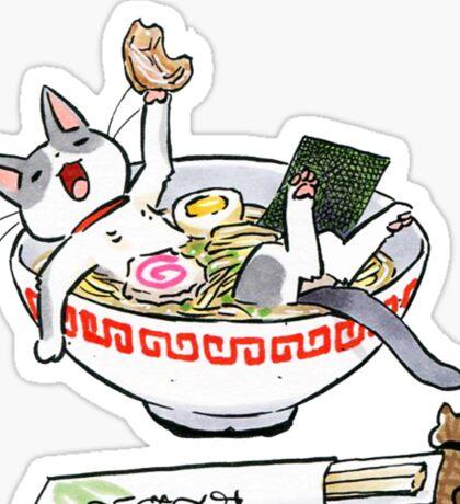 funny cat Sticker