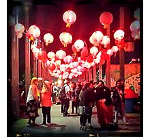 Noodle Festival Photographic Print