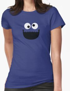 """Muppets """"Cookie Monster"""" Womens Fitted T-Shirt"""