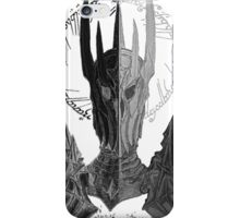 Two faces of Sauron iPhone Case/Skin