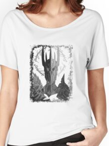 Two faces of Sauron Women's Relaxed Fit T-Shirt