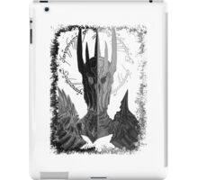 Two faces of Sauron iPad Case/Skin