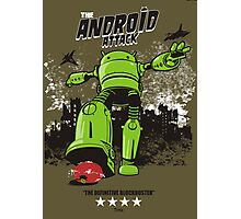 ANDROID ATTACK Photographic Print