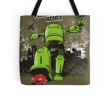 ANDROID ATTACK Tote Bag