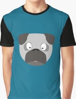 Cute Dog Face Graphic T-Shirt