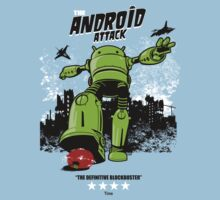 ANDROID ATTACK Kids Tee