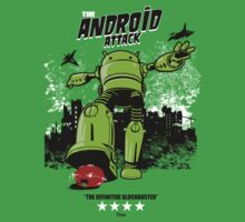 ANDROID ATTACK Baby Tee