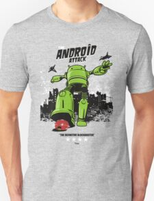 ANDROID ATTACK Unisex T-Shirt