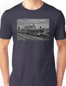 Great Western Railway Engine 2857 - Black and White Version Unisex T-Shirt
