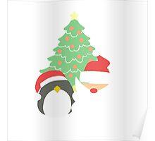 Santa & Penguin #1 Poster