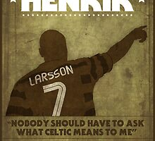 Henrik Larsson  by gezzamondo
