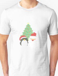 Santa & Penguin #1 Unisex T-Shirt
