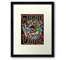 Zombie Vape Framed Print