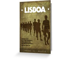 Lisbon 1967  Greeting Card