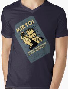 MIRTO Mens V-Neck T-Shirt