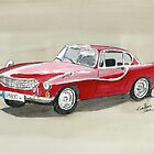 Volvo P1800 by Eva  Ason