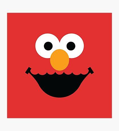 "Muppet ""Elmo"" Photographic Print"