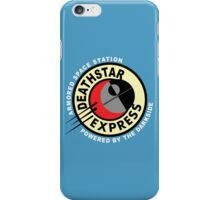 Death Star Express iPhone Case/Skin