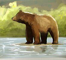 Bear by Richard Eijkenbroek