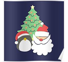 Santa & Penguin #2 Poster