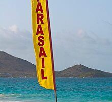 Parasail beach flag. by FER737NG