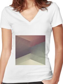 RAD XV Women's Fitted V-Neck T-Shirt