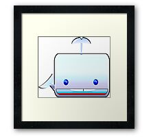 Boxy the Whale Framed Print