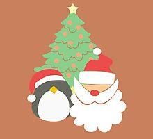 Santa & Penguin #3 by simplepaperplan