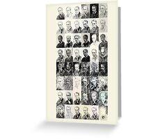 48 off 144 Portraits of Baudelaire: laudatio laudanum Greeting Card