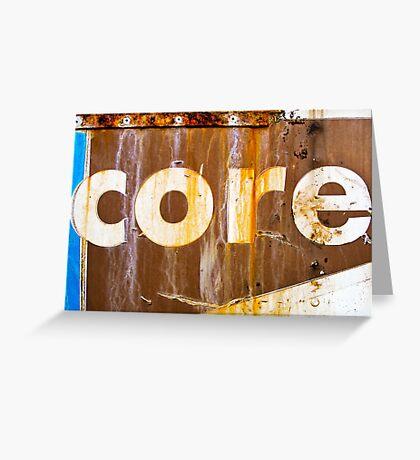 core Greeting Card