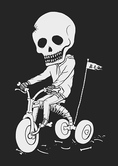 Death Kid Bone Ride by pigboom